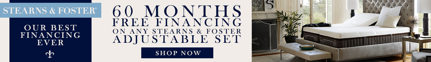 Stearns & Foster Sale